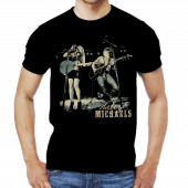 Haley & Michaels Unisex Black Live Photo Tee