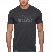 Haley & Michaels Unisex Heather Charcoal Tee