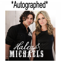 Haley & Michaels AUTOGRAPHED Self Titled EP