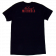 Haley & Michaels Unisex Black V Neck Tee